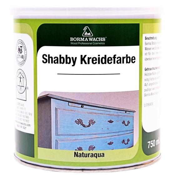 Shabby World Kreidefarbe weiß 375ml
