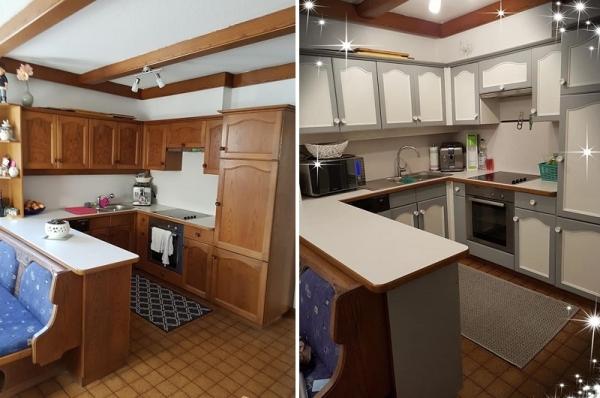 Anleitung zum Küche streichen mit Kreidefarbe von