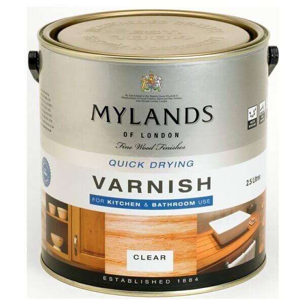 Mylands Varnish Versiegelung auch für Bad und Küche Shabby World