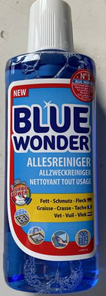 Blue Wonder power cleaner Shabby World