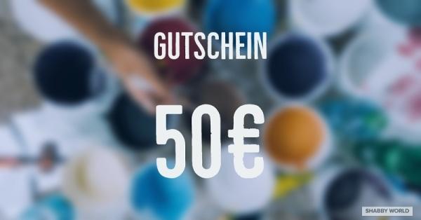 Shabby World Gutschein 50 Euro
