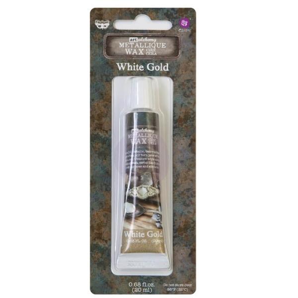 ReDesign Wachs Alchemy Metallique White Gold