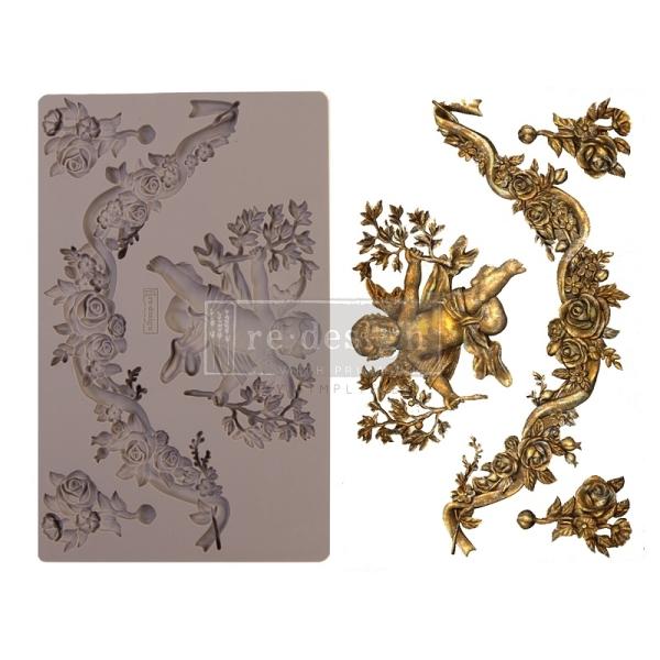 Shabby World design Mould Divine Floral redesignwithprima