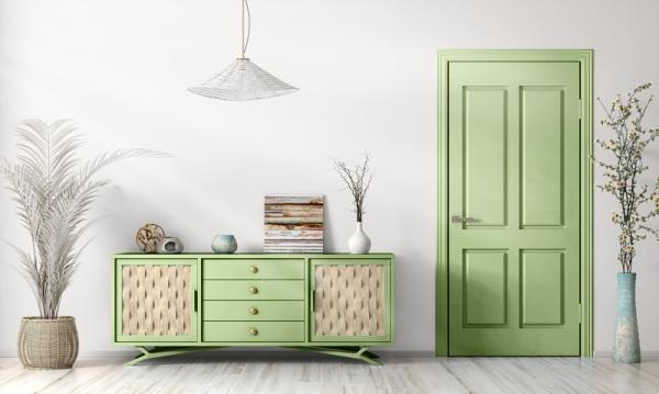 Mylands French Green No.187 Gloss Kreidefarbe Shabby World