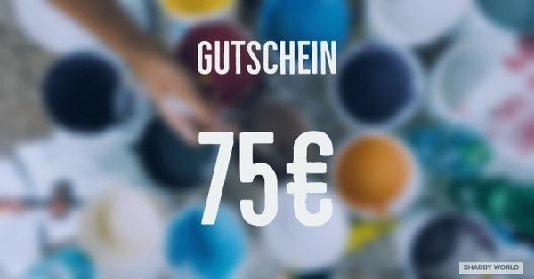 Shabby World Gutschein 75 Euro