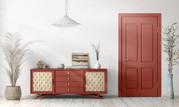 Mylands Mortlake Red No.290 Gloss Kreidefarbe Shabby World