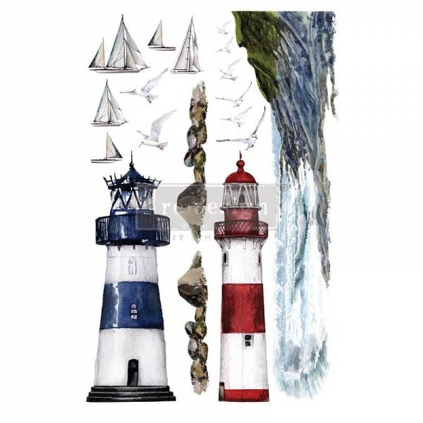 ReDesign Transfer lighthouse shabby world
