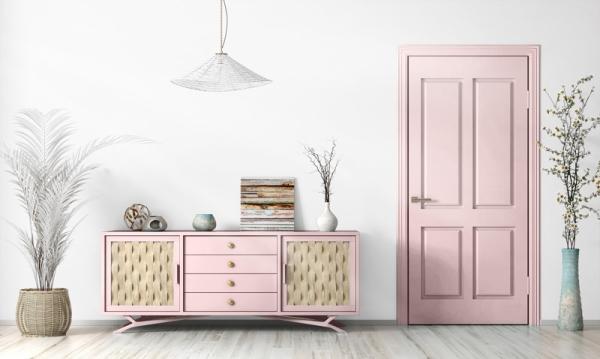 Mylands Palmerston Pink No.243 Eggshell Kreidefarbe Shabby World