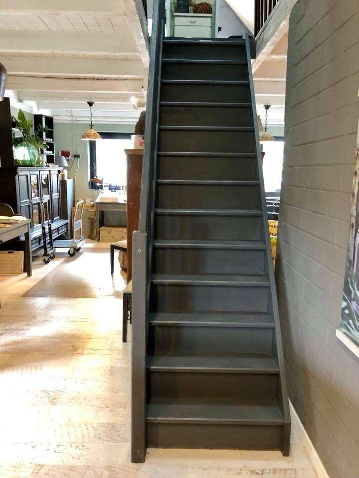 Sehr Anleitung zum Treppe streichen mit Kreidefarbe von CX41