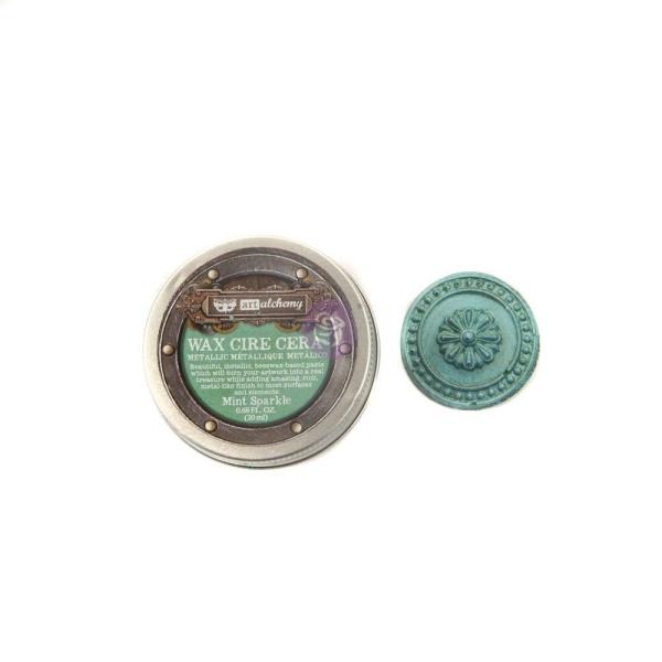ReDesign Wachs Alchemy Metallique Mint Sparkle