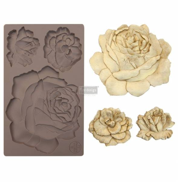 Redesign Mould Etruscan Rose Shabby World