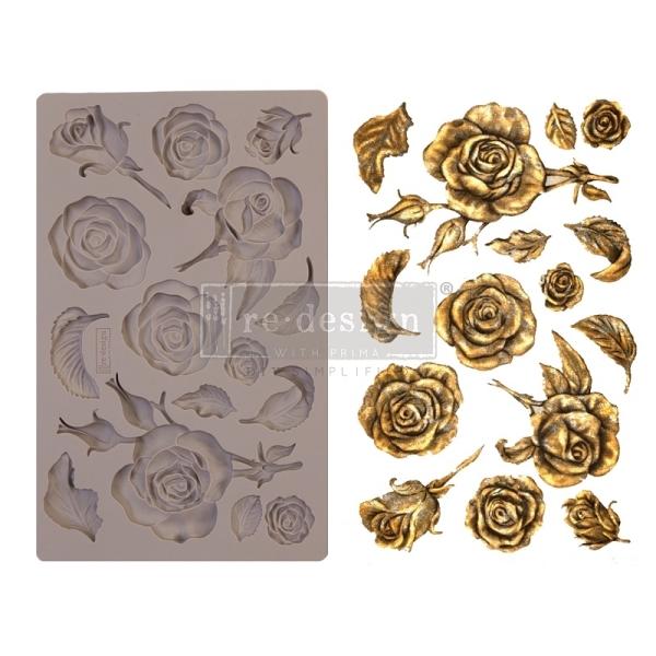 Shabby World design Mould Fragrant Roses redesignwithprima