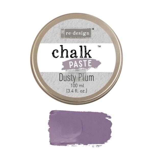 ReDesign Chalk Paste Kreidefarben Paste Dusty Plum Shabby World