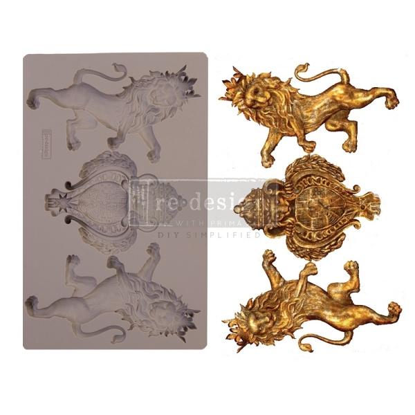 Shabby World Royal emblem Mould redesignwithprima