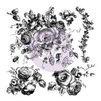 Decor Stempel Floral Shabby World