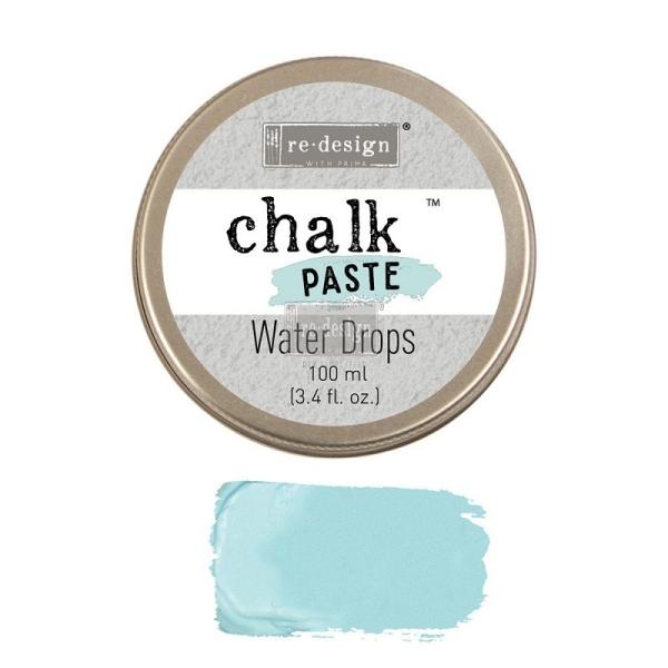 ReDesign Chalk Paste Kreidefarben Paste Water Drops Shabby World