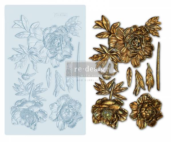 Shabby World design Mould Wilderness Rose redesignwithprima