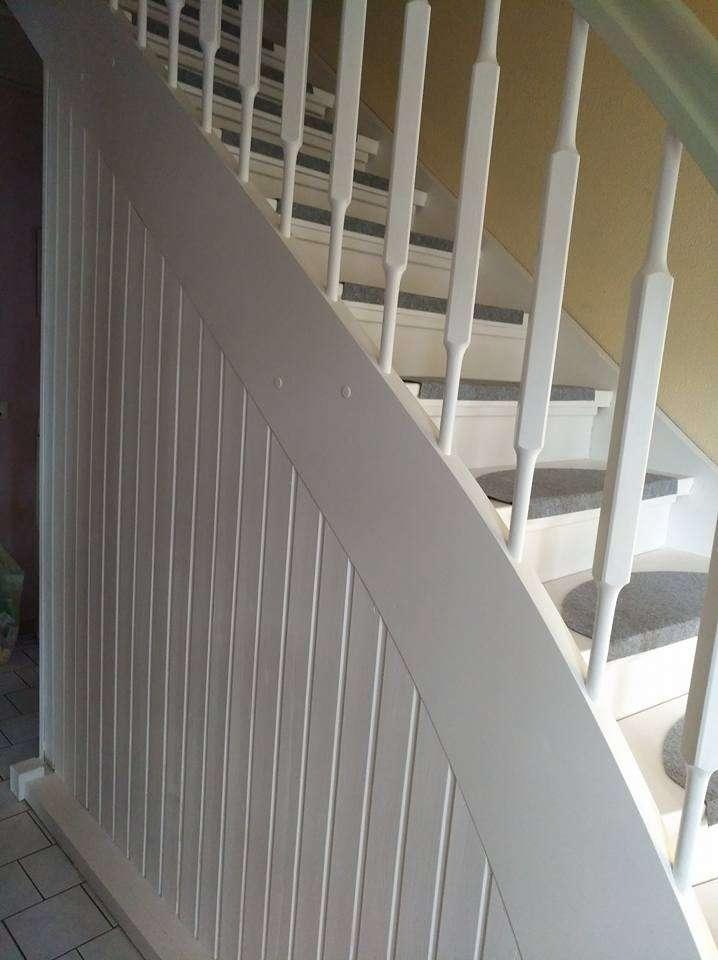 Berühmt Anleitung zum Treppe streichen mit Kreidefarbe von AO16