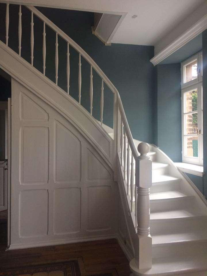 Favorit Anleitung zum Treppe streichen mit Kreidefarbe von ZP46