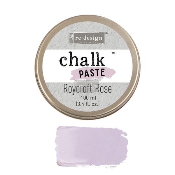 ReDesign Chalk Paste Kreidefarben Paste Roycroft Rose Shabby World