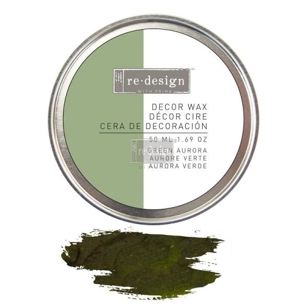 ReDesign Wachs Alchemy Green Aurora Olive Decor Wachs